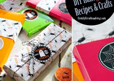 BOOrific! DIY Halloween Ideas to Re-Create at Home ~ Recipes & Crafts   MarlaMeridith.com