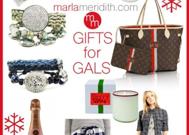 Holiday GIFTS for GALS   MarlaMeridith.com