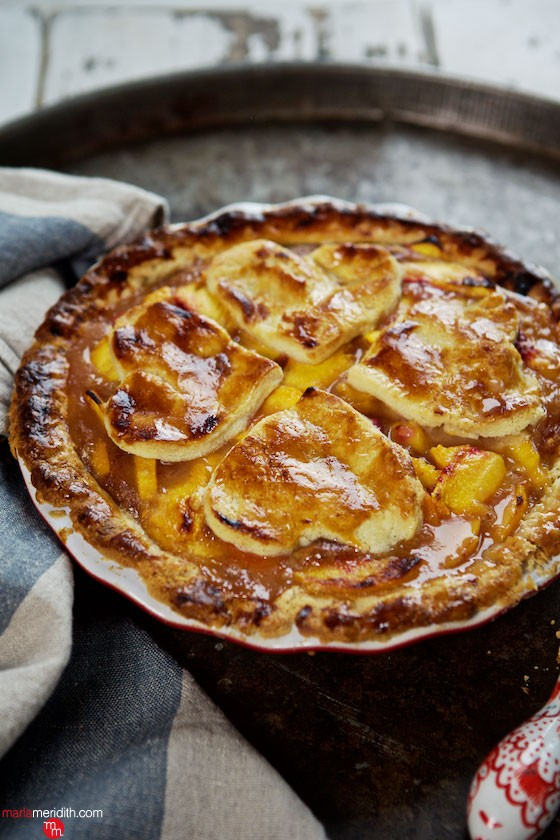 Here's my Perfect Peach Pie recipe....no other will do! MarlaMeridith.com ( @marlameridith )