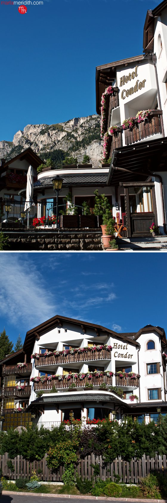 Selva di Val Gardena in the Dolomites...love this town! MarlaMeridith.com ( @marlameridith ) #travel #italy