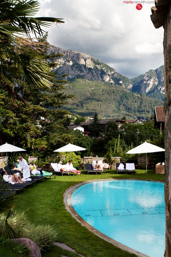 Romantik Hotel Turm, located in the beautiful village of Vols am Schlern in the Italian Dolomites. MarlaMeridith.com ( @marlameridith )