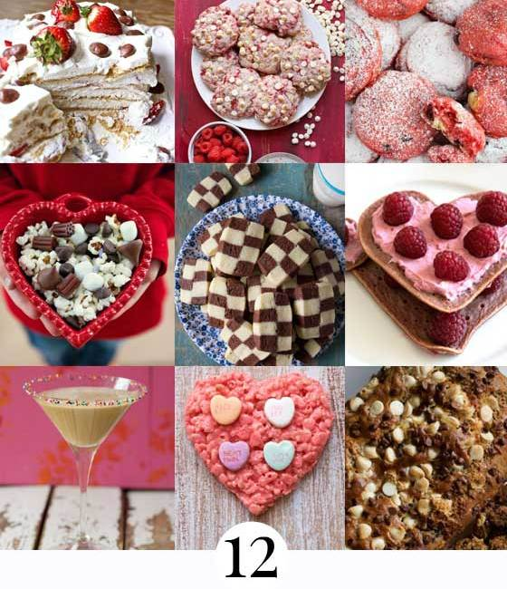 12 Delicious Treats to Make For Your Valentine! These are #recipes you gotta try! MarlaMeridith.com