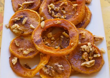 You will love this Roasted Butternut Squash with Butter, Brown Sugar and Cinnamon recipe for the holidays! Enjoy as a side dish or add to a salad or grain for a main course. MarlaMeridith.com