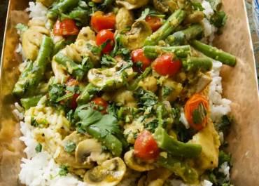 Lightened Up Chicken Korma