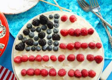 I love to make special desserts for the holidays, especially for July 4th. This Americana No-Bake Cheesecake will impress all your guests and it's super easy to make ahead of time. MarlaMeridith.com