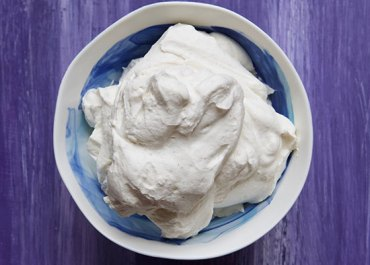 Maple Vanilla Bean Whipped Cream