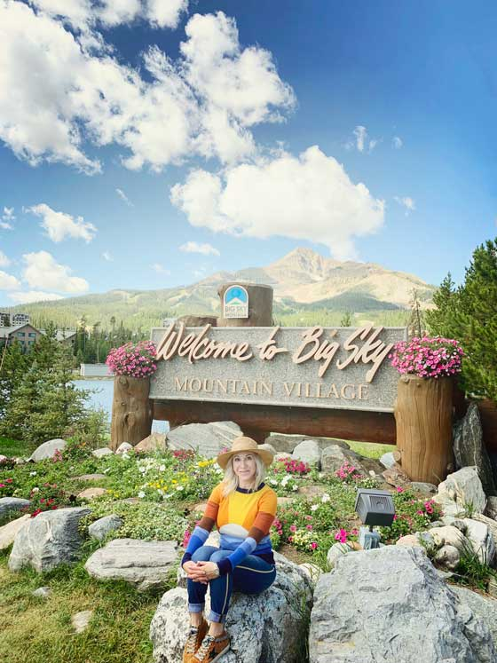 Welcome to Big Sky, Montana | MarlaMeridith.com