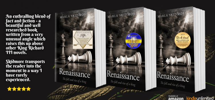 Author Julia Bell's Review of 'Renaissance – The Fall and Rise of a King' on Goodreads..