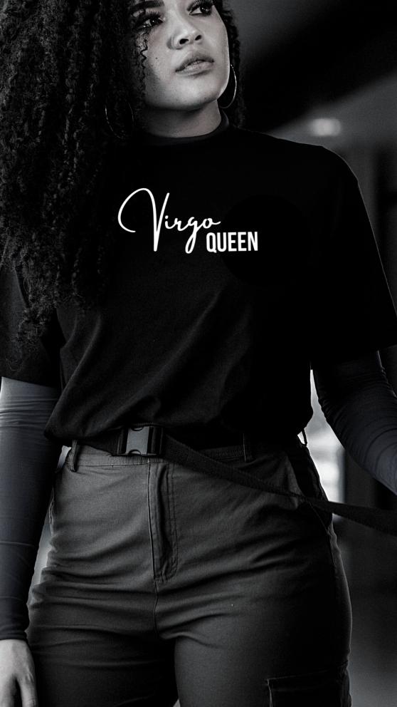 Realqueensappaerel.com Virgo Queen Zodiac Queen Tee!