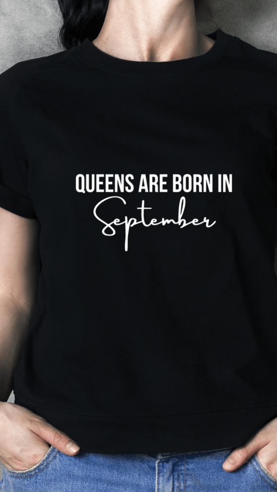 Realqueensapparel.com Queens are born in.. Tee
