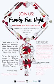 Family Fun Night - Two Rivers Gallery, Fitness and Nutrition Program