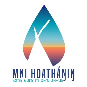 "Mni Hdathanin – Indigenous Rain-Activated Art Mni Hdatháŋiŋ (Dakota for ""Water Makes Its Own Appear"") uses the power of rain to make the hidden names for our homeland, our art and our voices appear; and to make water's own energy apparent to viewers. Using a product call Rain Works, Mni Hdatháŋiŋ will place temporary eco-friendly stencils on sidewalks that are only revealed when it rains, when water meets the earth."