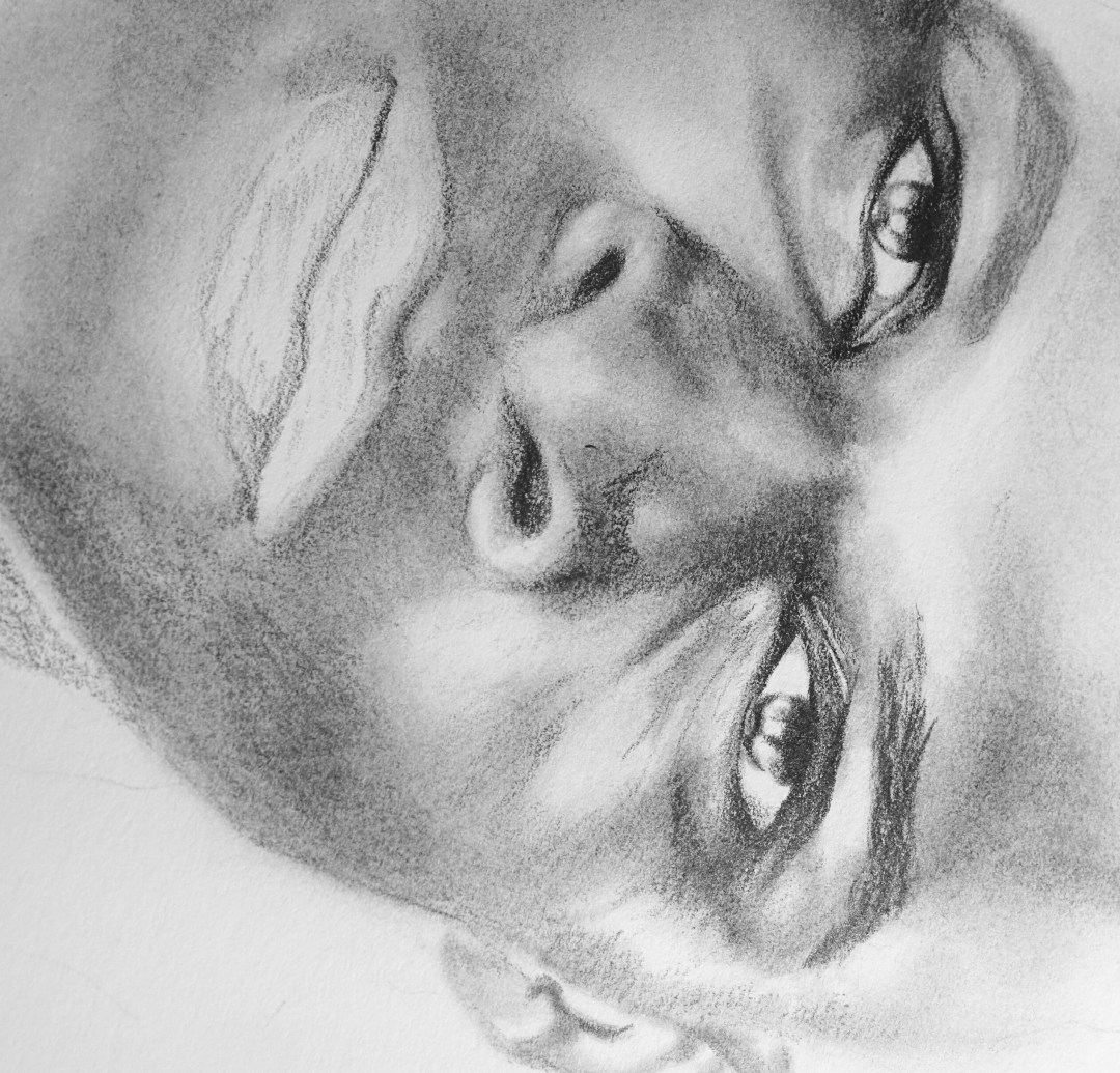 Work in Progress drawing of Russell Westbrook