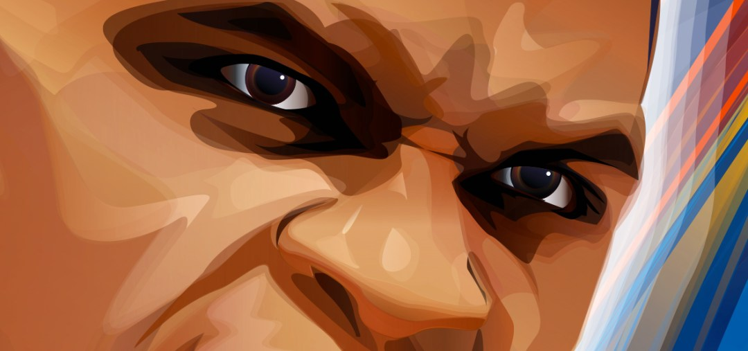 Russell Westbrook artwork by Marlena Myles