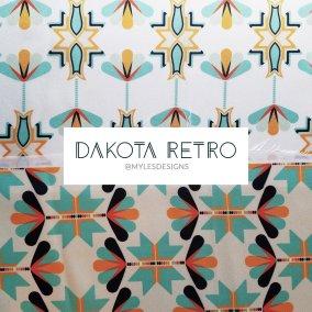 Native American fabric design