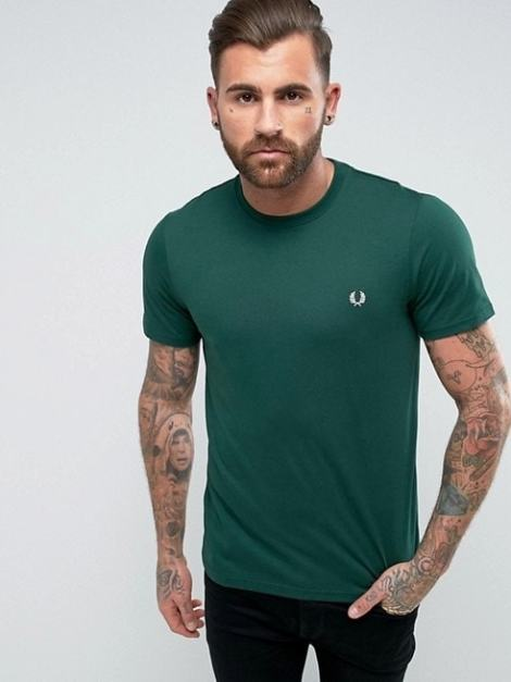 Fred Perry T-shirt verde