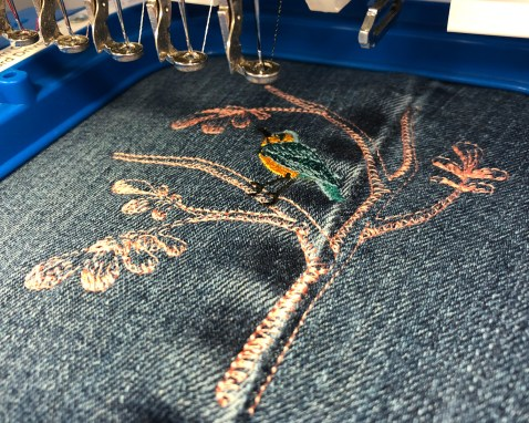 DenimHandbag-Embroidery