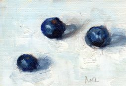 Three Blueberries 2015