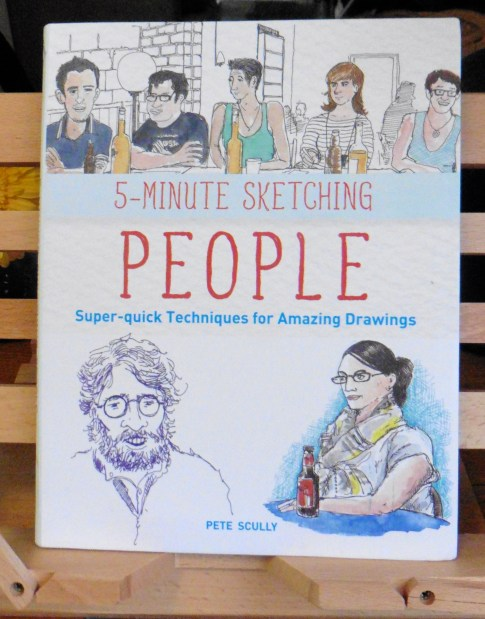 "Front page of ""5-Minute Sketching: People by Pete Scully"
