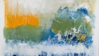 """whitecaps 30"""" x 30"""" oil on canvas $1125 (framed) by Marlene Lowden"""