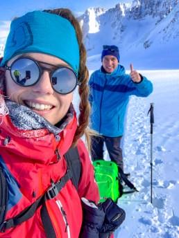 Wildspitze Petersenspitze Selfie