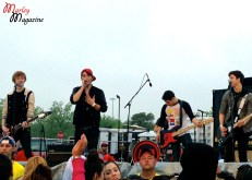 Hollywood Ending performing at Skate and Surf.