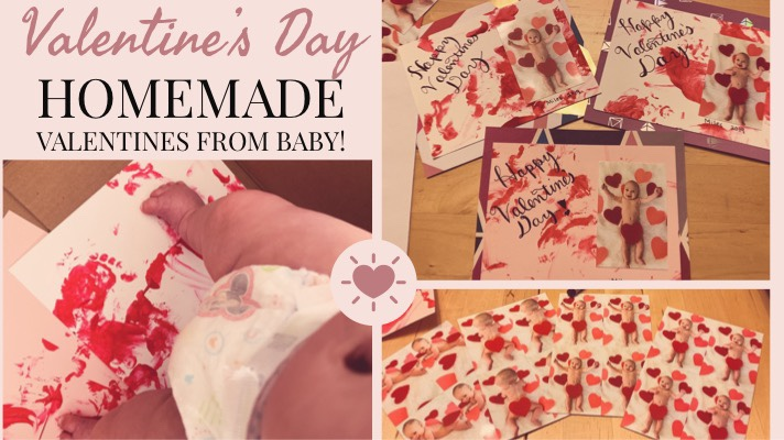 Valentine's Day Cards from Baby