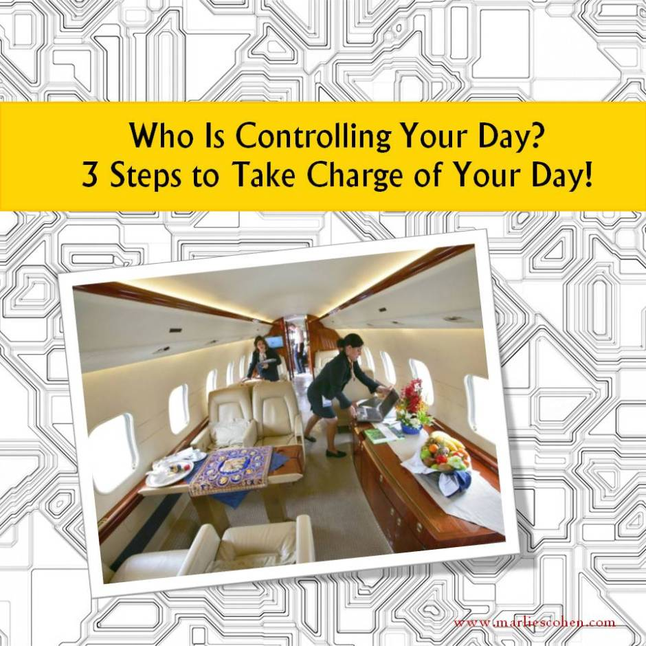 take charge of your day