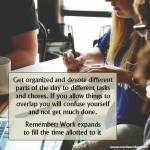 Productivity Tip from My Horoscope