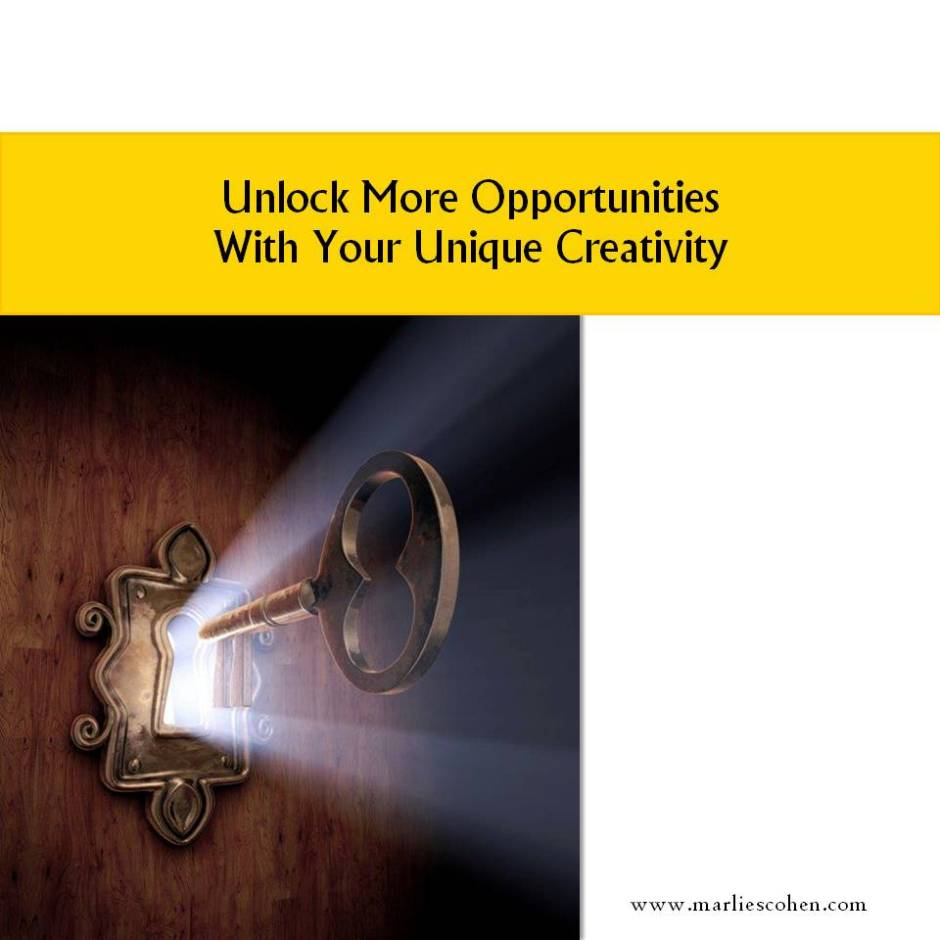 unlock opportunities with creativity