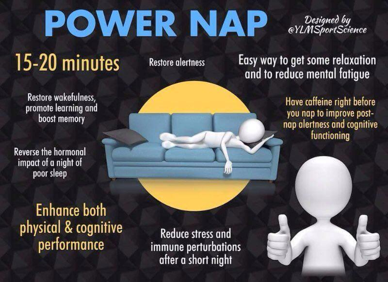 power nap effects