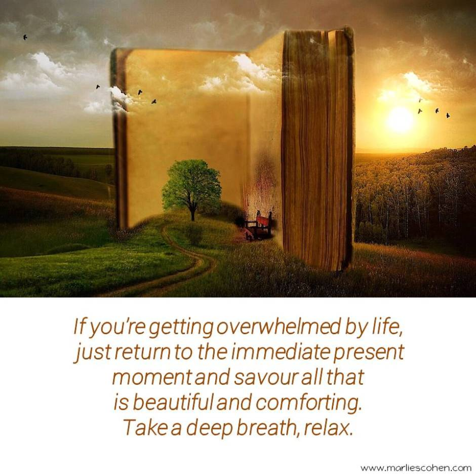 overwhelm and relaxing