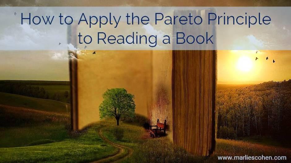 pareto principle and readding a book