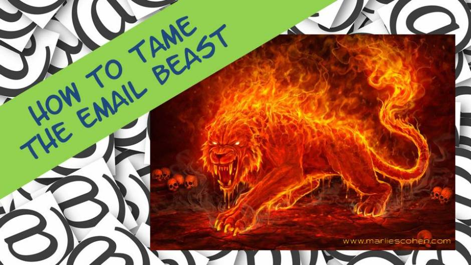 how to tame the email beast