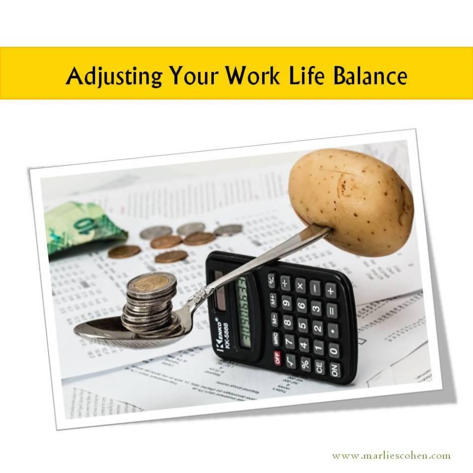 adjusting work life balance