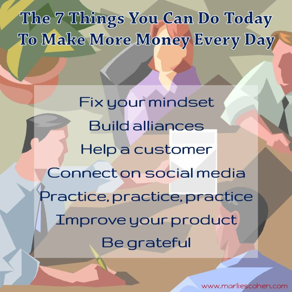 7 things you can do today