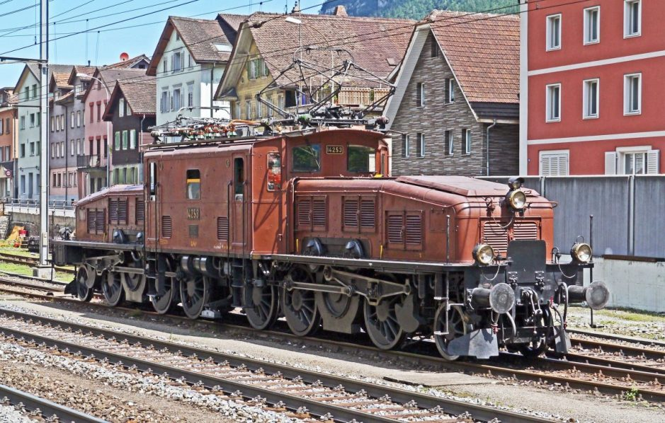 SBB Historic Crocodile Locomotive