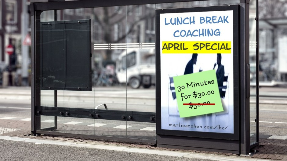 lunch break coaching april special