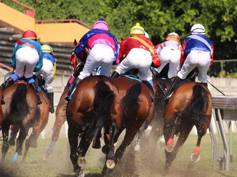 horse racing - jockeys