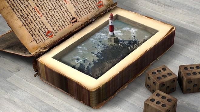 creativity, lighthouse, book