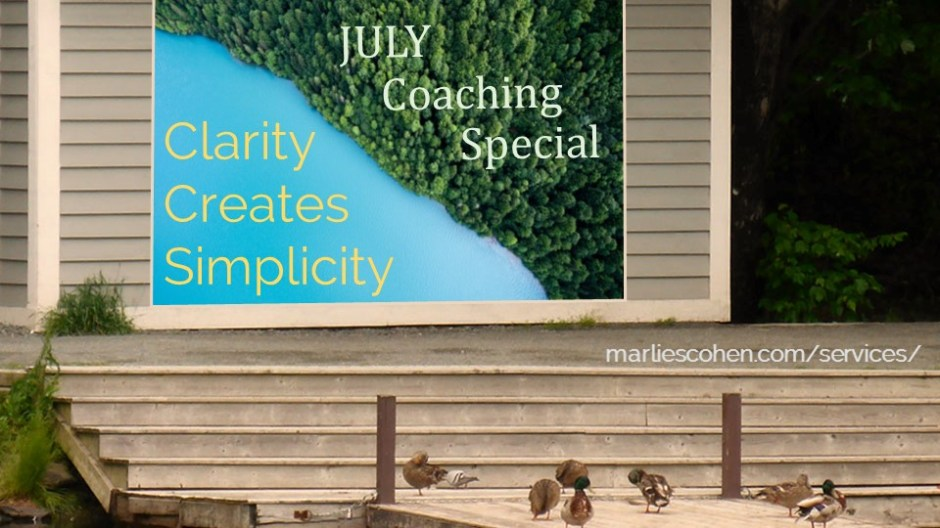 July Coaching Special