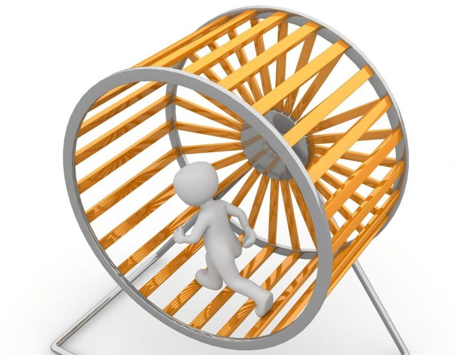 hamster wheel overthining