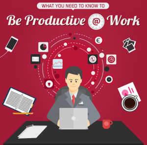 be productive at work
