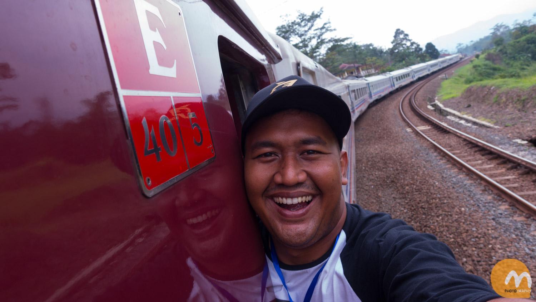 Honda Fun Offroad Touring Bandung Day 1 – Menikmati kereta wisata…