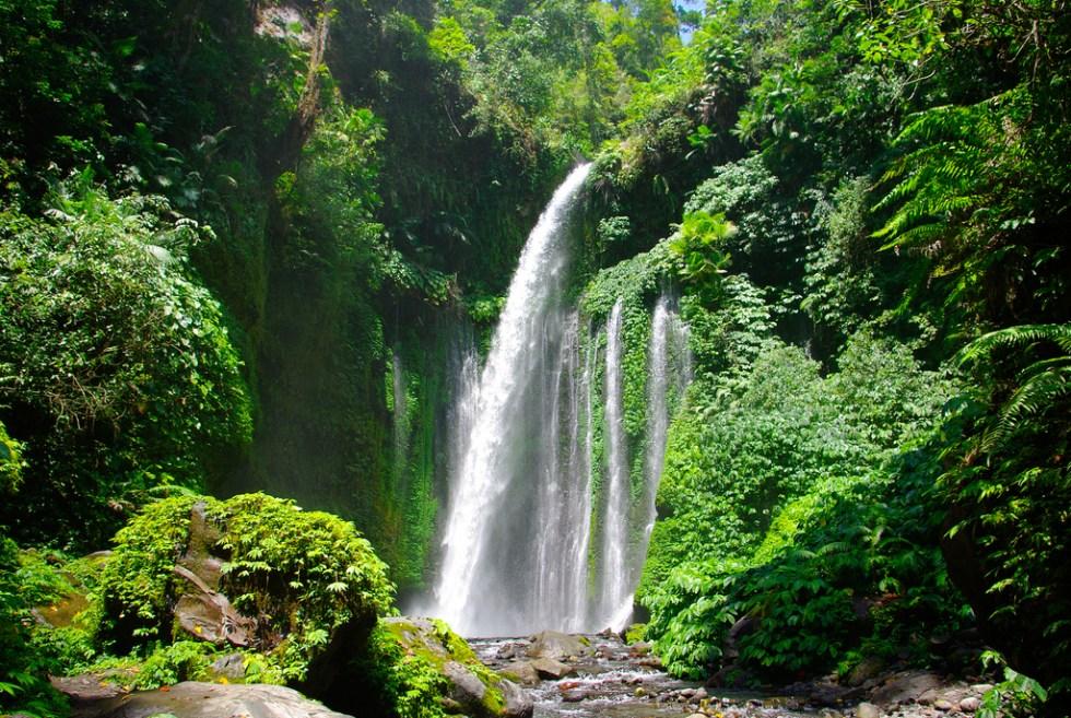 sendang gile waterfall lombok
