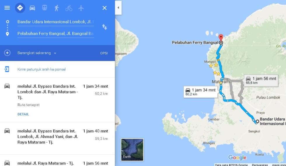 jarak-bandara-lombok-ke-bangsal-gili-trawangan