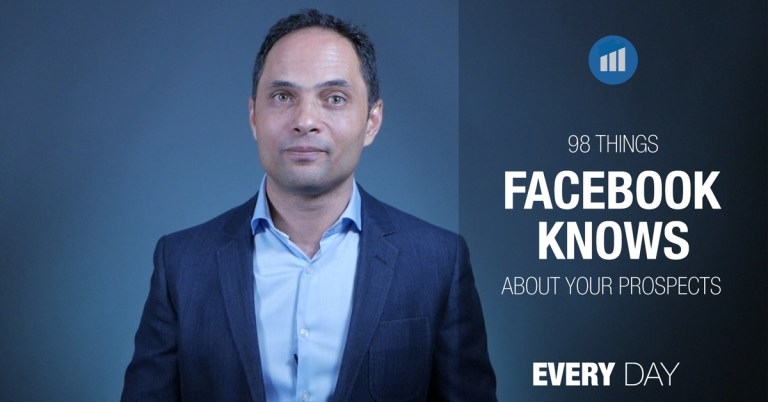 98 Things Facebook Knows About Your Prospects