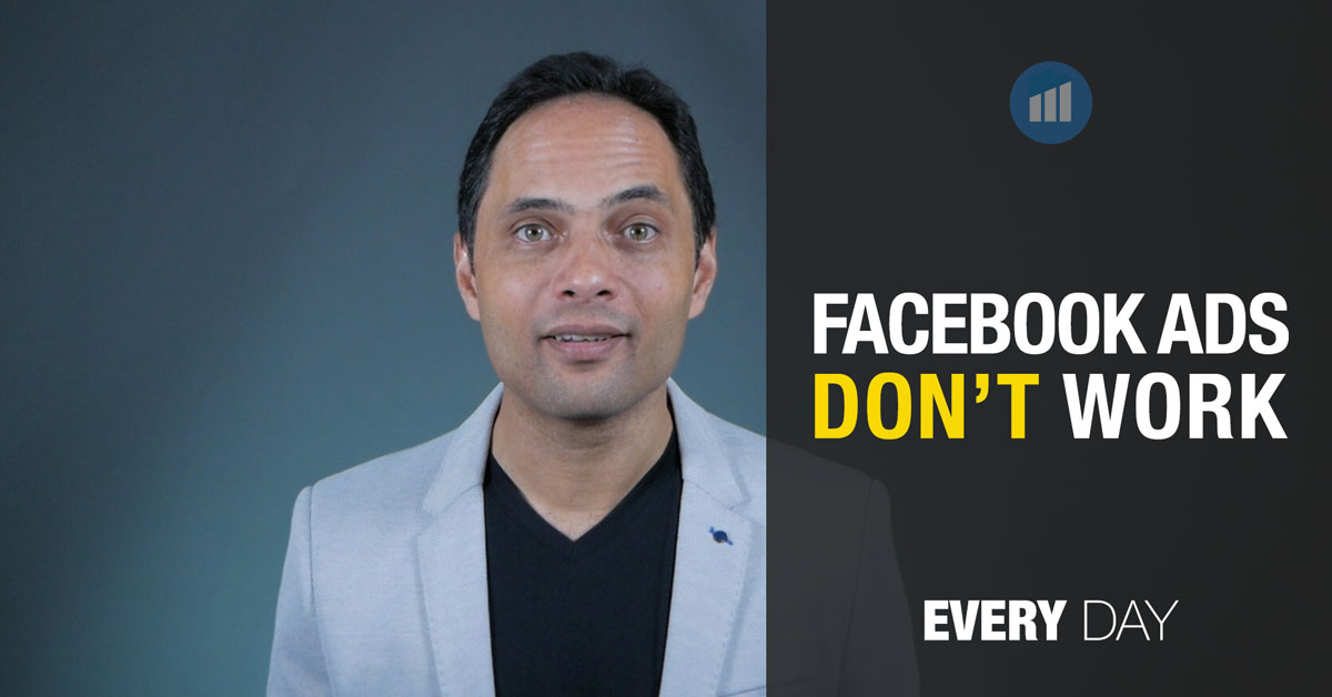 Facebook ads don't work