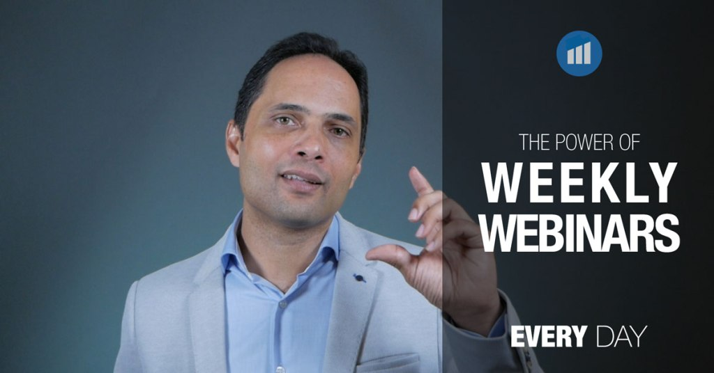the power of weekly webinars