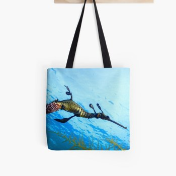 Durable Cotton Tote Shopping Bag Weedy Seadragon